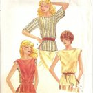 Misses 70s Blouse Vintage Sewing Pattern Butterick 3798 Large 16, 18