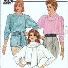 Misses Cowl Top 80s Vintage Sewing Pattern Butterick 3023 Size 8, 10