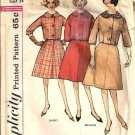 Misses 60s Jacket, Skirt Vtg Sewing Pattern Simplicity 4136 Size 14