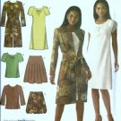 Misses Dress, Skirt, Coat Sewing Pattern Simplicity 4045 Size 6 - 14