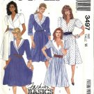 Misses Mock Wrap Dress Sewing Pattern McCalls 3497 Size 14