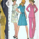 Misses Dress Tunic Pants Vintage Sewing Pattern McCalls 3244 Size 16