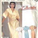 Misses Mock Wrap Dress Sewing Pattern McCalls 2927 Size 8