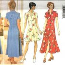 Misses Princess Dress Sewing Pattern Butterick 4387 Size 6, 8, 10