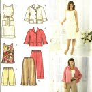 Misses Dress Jacket Pants Sewing Pattern Simplicity 3757 Size 10, 12, 14, 16, 18