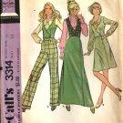 Misses Vest, Skirt, Pants Vintage Sewing Pattern McCalls 3314 Size 16