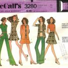 Misses Shirt Jacket Top Pants Skirt Sewing Pattern McCalls 3280 Sz 16