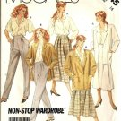 Misses Jacket Blouse Skirt Pants Sewing Pattern McCalls 3245 Size 16