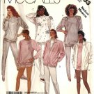 Misses Jacket Top Pants Shorts Sewing Pattern McCalls 3233 Size 14, 16