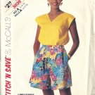 Misses Top, Culotte Sewing Pattern McCalls 3039 Size 6, 8, 10