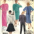Misses 80s Top Skirt Pants Sewing Pattern Size 16, 18, 20 McCalls 2884