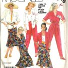 Misses Shirt, Pants, Trumpet Skirt Sewing Pattern McCalls 2316 Size 14