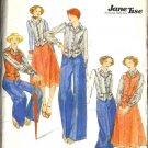 Misses Vest, Skirt, Blouse, Pants Sewing Pattern Butterick 4643 Size 7