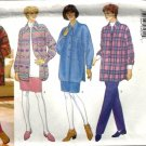 Misses Shirt, Skirt, Pants Sewing Pattern Butterick 4586 Size XS, S, M