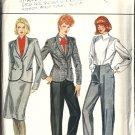 Misses Sewing Pattern Suit Jacket, Skirt, Pants Butterick 4564 Size 12