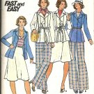 Misses Jacket Skirt Pants Vtg Sewing Pattern Butterick 4134 Size 18