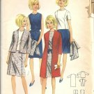 Misses Coat, Dress, Skirt, Top Sewing Pattern Butterick 4037 Size 16