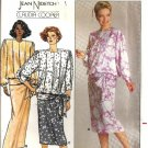 Misses Top, Skirt Nidetch Sewing Pattern Butterick 3754 Size 8, 10, 12