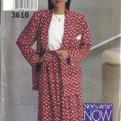 Misses Jacket, Skirt, Top Sewing Pattern Butterick 3610 Size 6, 8, 10, 12, 14