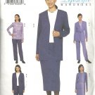 Misses Jacket Top Skirt Pants Sewing Pattern Butterick 3347 8, 10, 12