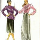 Misses Evan-Picone Jacket Skirt Sewing Pattern Butterick 3326 Size 16