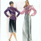 Misses Evan-Picone Jacket Skirt Sewing Pattern Butterick 3326 Size 14