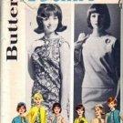 Misses 60s Dress Blouse Skirt Coat Sewing Pattern Butterick 2624 Sz 12