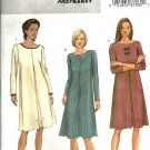 Misses Loose Dress Sewing Pattern Butterick 4019 Size 8, 10, 12