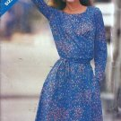 Misses Yoked Dress Sewing Pattern Butterick 3543 Size 8, 10, 12