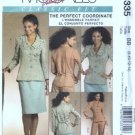 McCalls 5335 Misses Jacket Skirt Pants Sewing Pattern S 8, 10, 12, 14