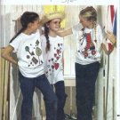 Girls Oversized Tshirt With Transfers To Paint One Size Butterick 3124