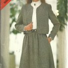 Misses Jacket, Skirt Sewing Pattern Butterick 3835 Size 14