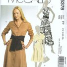 McCalls 5378 Misses Dress Sewing Pattern Size 16, 18, 20, 22 Uncut