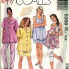 Misses Maternity Shirt Shorts Sewing Pattern Size 10, 12 McCalls 5399
