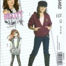 McCalls 5462 Girls Hoodie Top, Vest, Pants Sewing Pattern Size 12, 14, 16