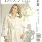 McCalls 5470 Misses Tunic Sewing Pattern Size 6, 8, 10, 12, 14 Uncut