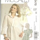 McCalls 5470 Misses Tunic Sewing Pattern Size 14, 16, 18, 20 Uncut