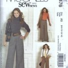 McCalls 5476 Misses Pants Sewing Pattern Size 6, 8, 10, 12, 14 Uncut
