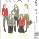 McCalls 5482 Misses Wrap Jacket Skirt Pants Sewing Pattern Sz 6, 8, 10, 12, 14