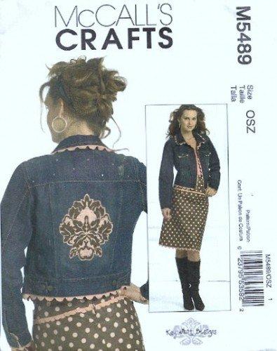 McCalls 5489 Misses Skirt, Jacket Kay Whitt Sewing Pattern 4 - 18