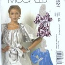 McCalls 5521 Misses Tunic, Sash Sewing Pattern Size 14, 16, 18, 20