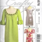 McCalls Crafty 5576 Misses Dress Sewing Pattern Size 6, 8, 10, 12, 14