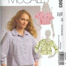 McCalls 5593 Misses Short Jacket Sewing Pattern Size 16, 18, 20, 22