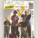 McCalls 5608 Boys Gitano Shirt Shorts Pants Sewing Pattern Size 10, 12, 14