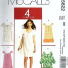 Women 2008 Dress Sewing Pattern McCalls 5622 Plus Size 18, 20, 22, 24