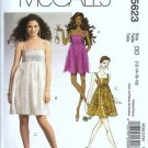 McCalls 5623 Misses Mini Dress Sewing Pattern Size 12, 14, 16, 18