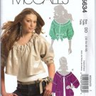 McCalls 5634 Misses Jacket Sewing Pattern Size 12, 14, 16, 18