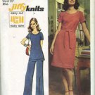 Simplicity 5556 Misses 70s Dress, Tunic, Pants Sewing Pattern Size 10