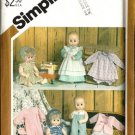 Simplicity 5615 Baby Doll Clothes Vintage Sewing Pattern Tiny Tears