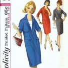 Simplicity 5643 Misses Shift Dress 60s Sewing Pattern Size 12 Uncut